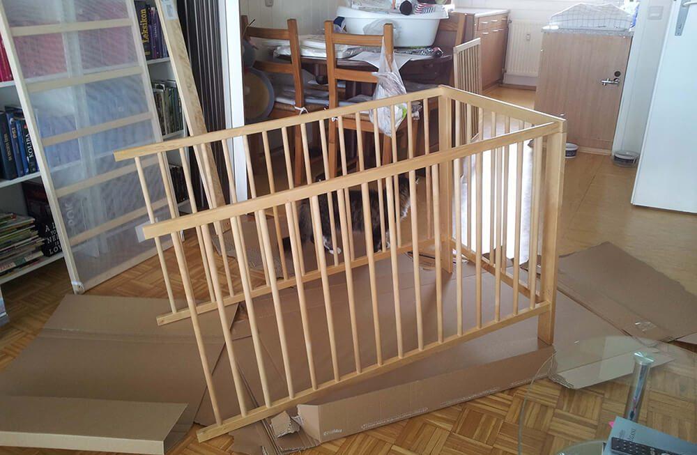 Mission baby crib – part. 2