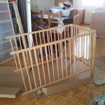 Mission baby crib