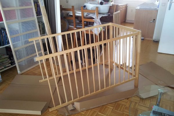 Mission baby crib – part. 2